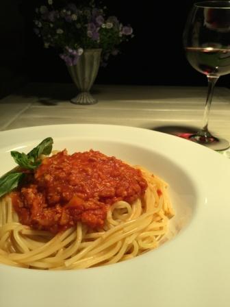 Rezept vegane Spaghetti Bolognese