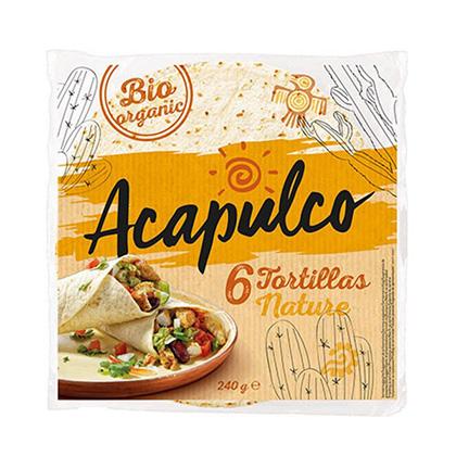Acapulco Tortilla Wraps Bio 240g
