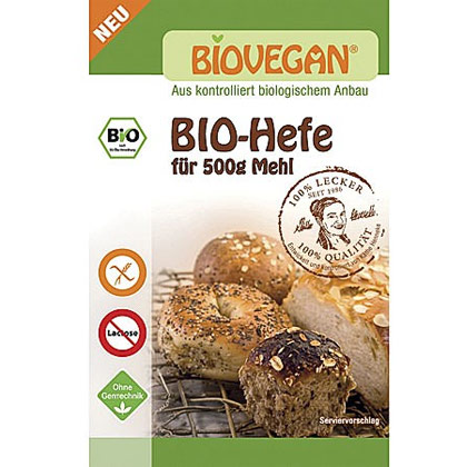Biovegan Meister Hefe glutenfrei 7g4024297340454