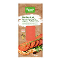 Vantastic Foods Veggie Räuchersalami SIM SALA MI Aufschnitt 80g