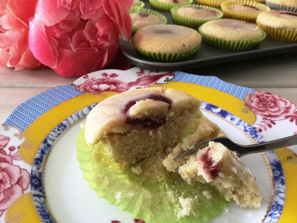 Rezept Zitronen-Erdbeer Cupcakes