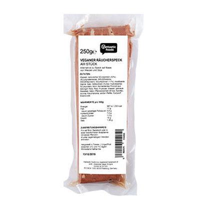 Vantastic Foods Veggie Räucherspeck am Stück 250g