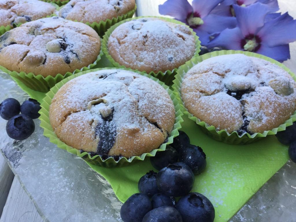 Rezept Heidelbeer-Muffins