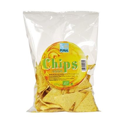 Pural Mais Chips Nature 125 g