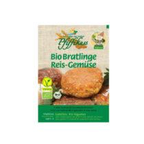 Pfiffikuss Bio Bratlinge Reis-Gemüse 150g