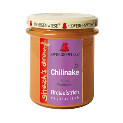 Zwergenwiese Brotaufstrich Chilinake 160g