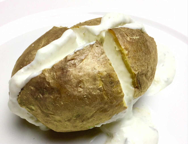 Rezept Baked Potato mit veganer Sour Creme