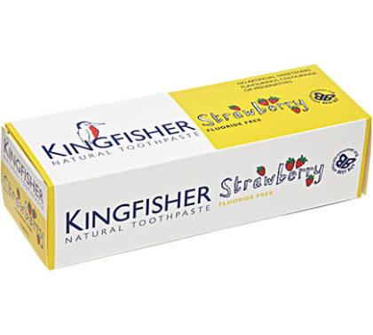 Kingfisher Zahnpasta Erdbeere ohne Fluor 100ml