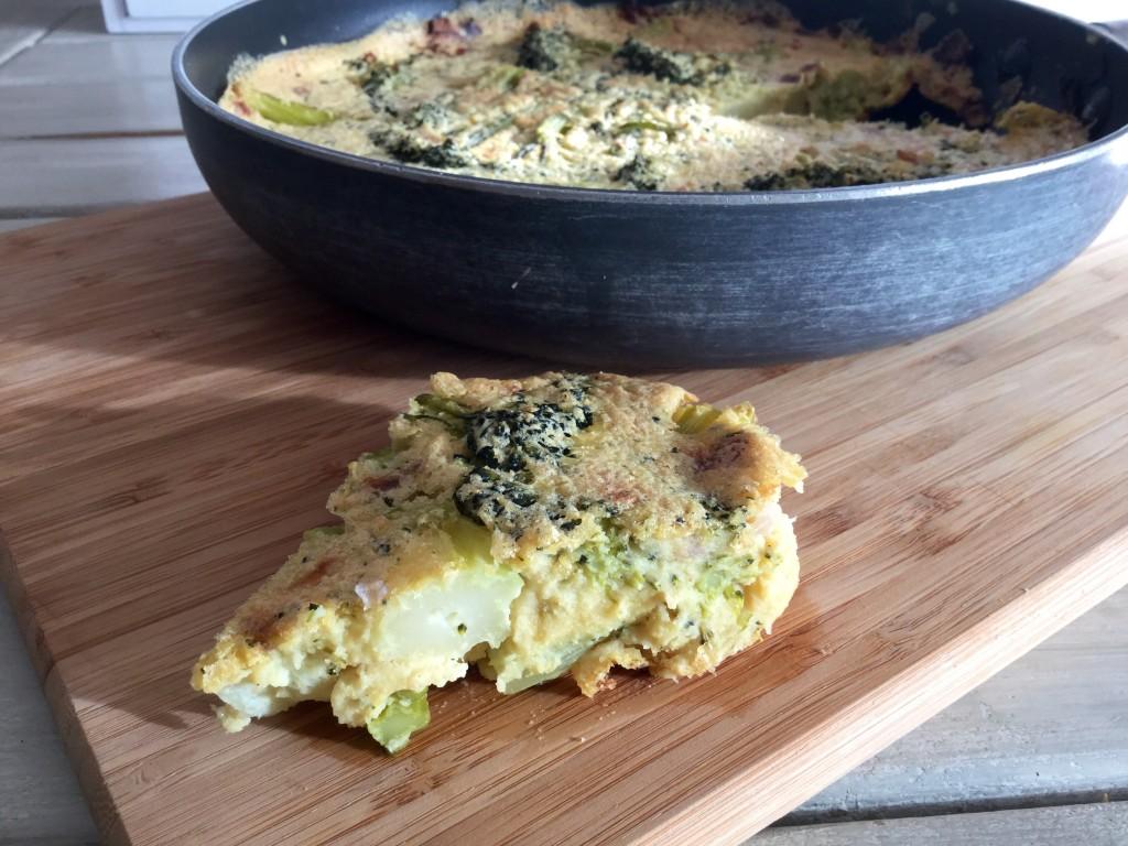 Rezept Tortilla mit Broccoli