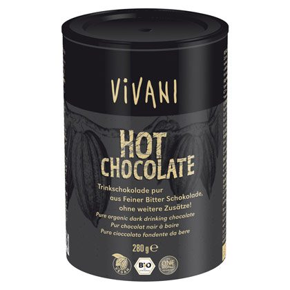 Vivani Hot Chocolate Trinkschokolade 280g