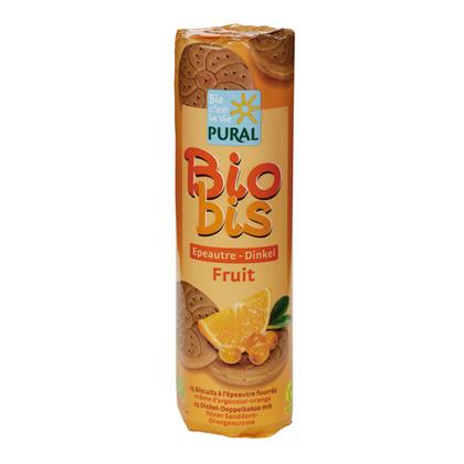 Pural Bio Bis Dinkel Sanddorn Orange Doppelkekse 300g