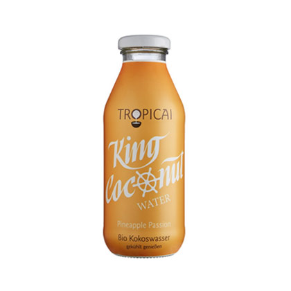 Tropicai King Coconut Water Pineapple Passion 350ml