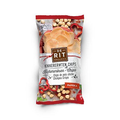 De Rit Kichererbsen-Chips Paprika 75g