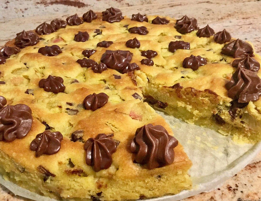 Rezept Rhabarber-Schoggi-Kuchen