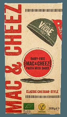 Terra Vegane Mac & Cheez Classic Cheddar Style 200g