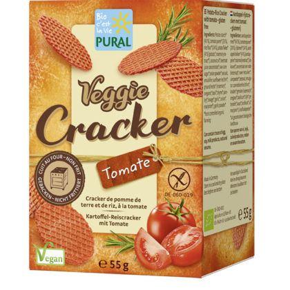 Pural Veggie Cracker Tomate 55g