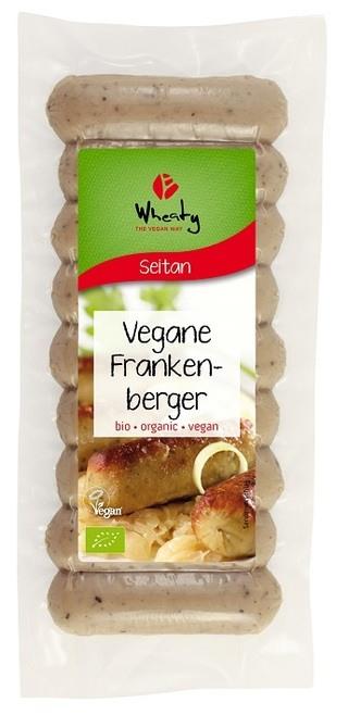 Wheaty Vegane Frankenberger 200g