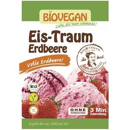 Biovegan Eistraum Erdbeere 86g