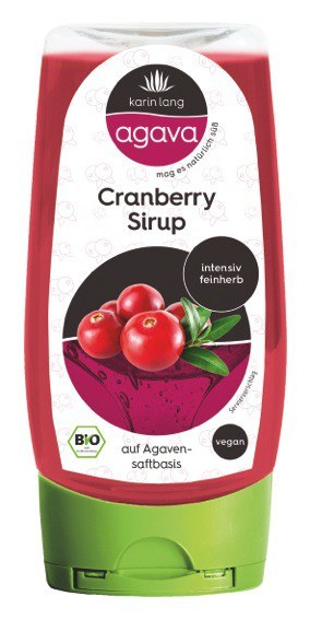 Agava Cranberry Sirup 250ml