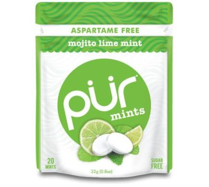Pür Mints Mojito Lime Pastillen 22g