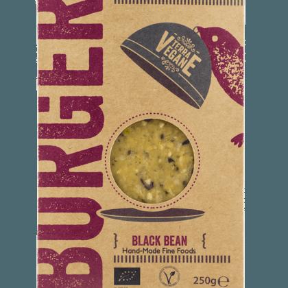 Terra Vegane Black Bean Burger 250g
