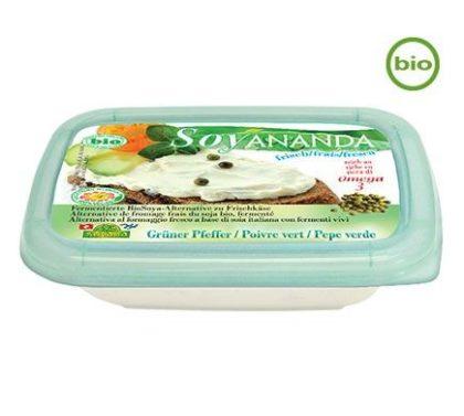 Soyananda Frischkäse Alternative grüner Pfeffer 140g