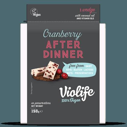 Violife After Dinner Cranberry 150g