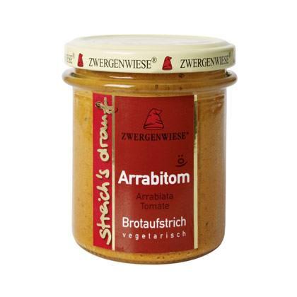 Zwergenwiese Brotaufstrich Arrabitom 160g