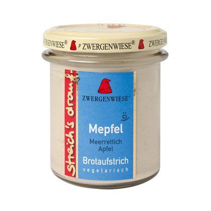 Zwergenwiese Brotaufstrich Mepfel 160g