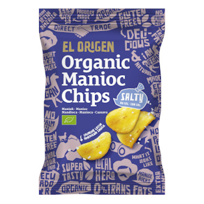 El Origen Maniok Chips gesalzen 60g
