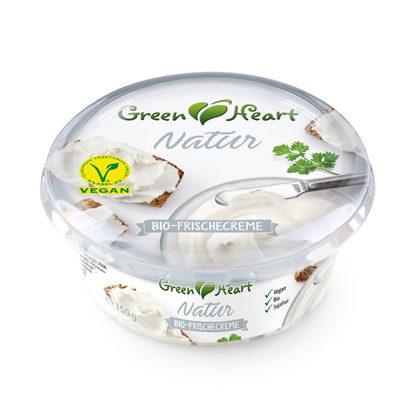 Green Heart Frischecreme Natur 150g