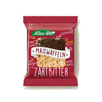 Allos Amaranth-Maiswaffel mit Zartbitterschokolade 37.5g
