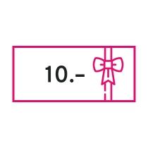 Gutschein CHF 10.–