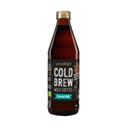 Voelkel Cold Brew Wild Coffee Coconut Milk 0.33l (inkl.Depot 0.50)