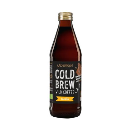 Voelkel Cold Brew Wild Coffee Vanilla 0.33l (inkl. Depot 0.50)