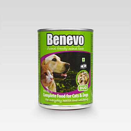 Benevo Duo für Katzen und Hunde 369g