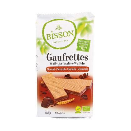 Bisson Schokolade Waffeln 190g