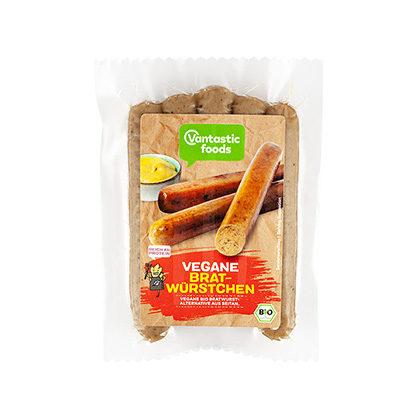 Vantastic Foods Vegane Bratwürstchen 200g