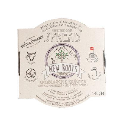 New Roots Spread Knoblauch & Kräuter 140g