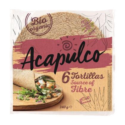 Acapulco Tortilla Wraps Vollkorn Bio 240g