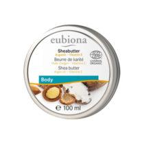 Eubiona Sheabutter mit Arganöl & Vitamin E 100ml