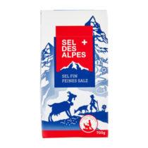 Sel des Alpes feines Salz ohne Jod und Fluor 700g