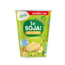 Sojade Banane Passionsfrucht Joghurt ohne Zucker 400g