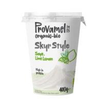 Provamel Soja Skyr Style Limette Zitrone  400g