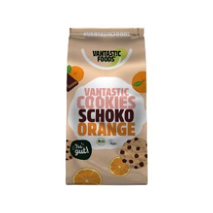 Vantastic Foods Cookies Schoko Orange 125g