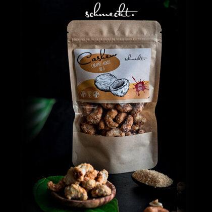 Schmeckt Cashew Caramel-Kokos 80g