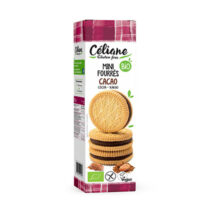 Céliane Mini Kekse mit Kakaofüllung 125g