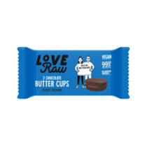 Love Raw Chocolate Butter Cups Peanut Brownie 34g