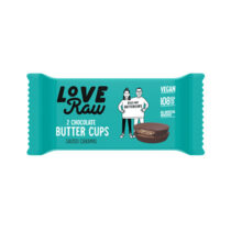 Love Raw Chocolate Butter Cups Salted Caramel 34g