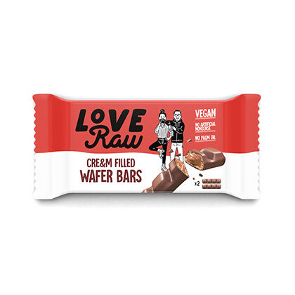 Love Raw Cre&m Filled Wafer Bar 43g